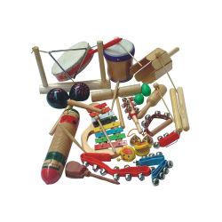 De in het groot Instrumenten Bij pasgeborenen van Orff van de Baby Houten Muzikale Onderwijs