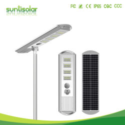 Extreem duurzame LED-straatverlichting voor buiten, 20W-100W, op zonne-energie