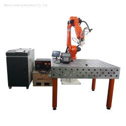 1KW 1,5 kw 2 kw Titânio alumínio metálico de aço inoxidável auto Robô Máquinas Soldadura a laser de fibra Cw Raycus Max Jpt benefici rio Ipg - Preço dos equipamentos de solda na China da Bateria
