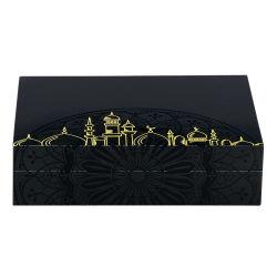حارّ عمليّة بيع [متّ] طلاء لّك إنجاز هبة خشبيّة يعبّئ صندوق