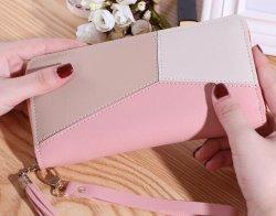 Top Grade Fashion le contraste des couleurs Wallet Lady sac à main