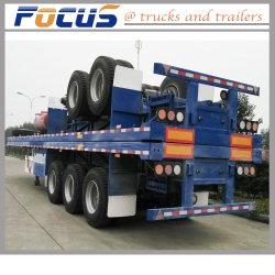 Les essieux tandem Heavy Duty Semi-Trailer pour les conteneurs de transport du chariot