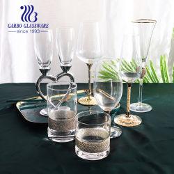 [هوت-سلّينغ] دقيقة [كرستل غلسّ] خمر يشرب [شمبن] زجاج مع معدن حامل قفص ([تز-غب08وه13221]. [ج015ا])