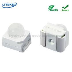 متوافق مع RoHS Ultra Red 3000mcd 3528 SMD LED بقبة زاوية عرض أعلى 30 درجة لعلامات حد السرعة المتغيرة (VSLS)