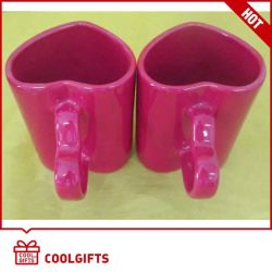 Neue keramische Kaffeetasse stellte mit Inner-Form für Geschenke ein