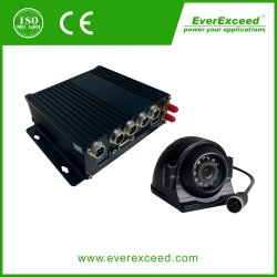 Gravador de Vídeo Digital HD CCTV carro móvel sistema DVR