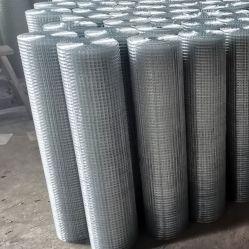 Pano de Hardware do Painel Galvanizado Square de malha de arame de ferro em rolos de malha de arame soldado