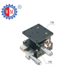 段階を置く125X125mmの精密測微顕微鏡のXzの軸線