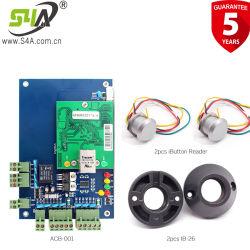 Leitor de acesso à rede da Placa de Controle de acesso Wiegand e leitor de cartão com o botão Sair kits completos Sistemas de Controle de Acesso