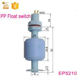 M10*52mm 10W del sensor de nivel de agua de plástico Micro interruptor de flotador EP5210-1A1