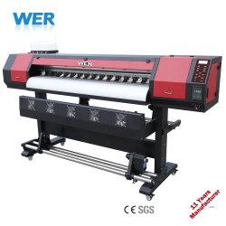 1,8 millones de impresora de gran formato de 6 pies de la OCE impresora solvente dx7 de 1440*1440dpi de cabezal de impresión