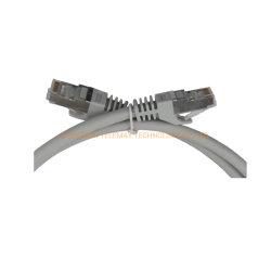FTP Cat5e patch cord revestimento de PVC Amarelo cobre nu