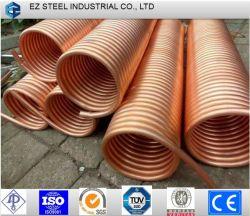 Tuyaux de climatisation 3/8 enduits de cuivre recuit de tuyaux en acier galvanisé
