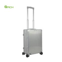 """La moda de 20"""" de equipaje Estuche rígido de aluminio con doble mecanismo de giro ruedas Maletín Fg2219LG-S"""