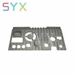 Usine de précision en aluminium anodisé de couleur personnalisés d'usinage CNC LED de dissipateur thermique en aluminium moulé