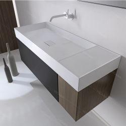 """2020 تصميم جديد حوض الغسيل يغرق حمام """"حوض سطح الطاولة"""" حوض مستطيلة من السطح الصلب حوض الحجر الاصطناعي"""