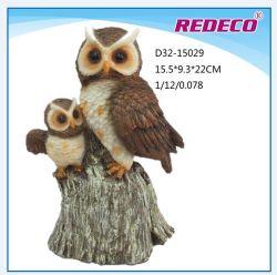 Cerámica jardín figurilla32-15029 Owl (D)