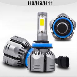 2020の新製品LED R11車のヘッドライトH7の球根H4 H1 H11h8 880 H3 9005車のヘッドライトのための9006の自動ライト6000K 72W 6000lm 12V LEDランプ