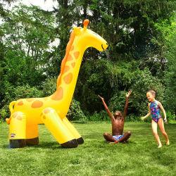 Nouveau Jouet à eau pulvérisée girafe gonflable enfants Tapis de jeu à eau pulvérisée de plein air