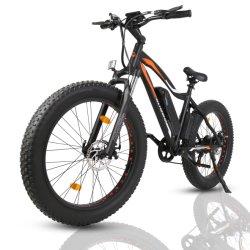 Classic 26polegadas pneu gordura carga de bicicletas eléctricas Cruiser Ebike Acessórios