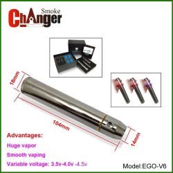 2013 Vaporisateur EGO de la batterie de tension variable V6