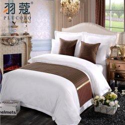 호텔 침구 세트 장식 럭셔리 퀸 사이즈 침대 러너 호텔