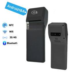 نقاط البيع الطرفية المحمولة للدفع الذكي 3G/4G/WiFi بقياس 6.0 بوصة مع بصمة الإصبع قارئ Z300