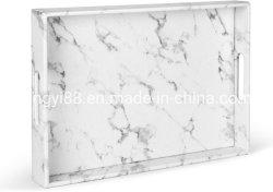 Service personnalisé de marbre de luxe en acrylique le bac pour l'hôtel