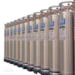 El nitrógeno 2.88MPa cilindro de gas criogénico líquido del depósito de Dewar