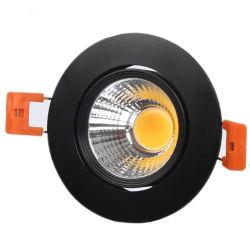 Nuovo stile lampada da soffitto inclinabile in alluminio ignifugo faretto a LED per Bagno