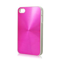 حقيبة غطاء صلب من الألومنيوم للحلية البلورية لهاتف iPhone4/4