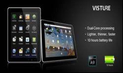 9,7-дюймовый СЕРЕДИНЫ Tablet PC, двухъядерный процессор ARM Cortex A9, 3G WiFi и телефонный вызов функции