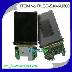 Écran LCD du téléphone mobile pour Samsung U600