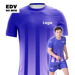 Alta qualidade de fábrica barato Soccer Jersey 100% poliéster conjuntos uniforme Futebol Clube de Futebol Kit Jersey