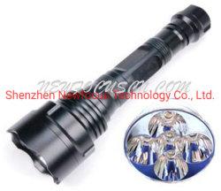 LED-Taschenlampen-Fackel - hohe Leistung nachladbares 2*18650