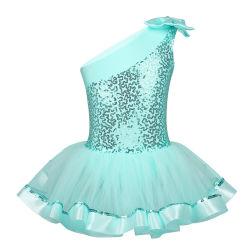 Les filles paillettes brillantes Camisole Tutu contourné la princesse de gymnastique Spectacle de Danse Ballet robes