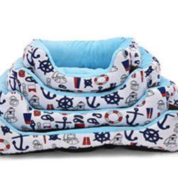 Prodotti per il letto di PET Rectangle Faux pelliccia lunga pelliccia di lusso PET Bed, Cat Bed, Dog Bed, PET divano
