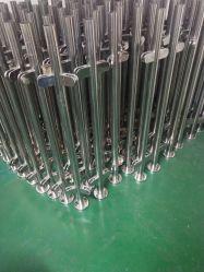 ISO9001 Revestimento a pó Outdoor/Metal no interior de aço inoxidável corrimão de vidro com balaustrada/grades de proteção para a varanda / terraço/escadas/escadas de fábrica na China