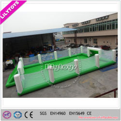 Hot Sale Savon gonflable Terrain de football jeu de sports gonflable