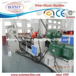 PP Wood WPC شق آلة تصنيع الكترودر / برغيف مزدوج متوازية WPC جرانول آلة تصنيع الكترودر