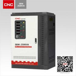 2020 Venta caliente SBW-50kVA estabilizador de voltaje de compensación de alta potencia