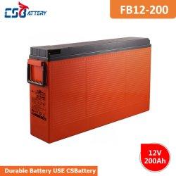 Csbattery 12V 200Ah 15+ anos de vida útil da bateria de chumbo-ácido para Telecom/trator/Agricultural-Machinery/Booster-Pumps