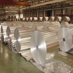 La moitié de la taille de récipient en aluminium
