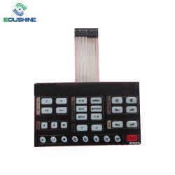 Custom водонепроницаемый новую мембрану клавиатуры с 3м клей мембранный переключатель