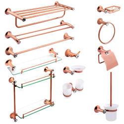 Badezimmer passende Goldzink-Legierung für die Badezimmer-Zubehör eingestellt