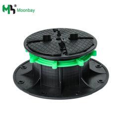 可調整式セルフレベリング加工床張りプラスチック製高床ペデスタル(舗装用) デッキ