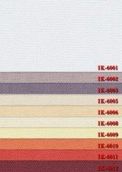 Tissu d'avion pour les aveugles du rouleau de tissu DIM-out, des nuances tissu (IK-6001-6021)