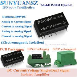 Ci d'amplificateur isolé à signal simple/double courant/tension c.c. série Isoem