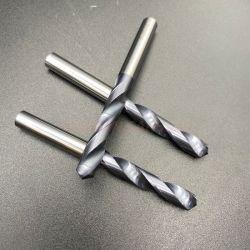 ギガワットの炭化物-金属の訓練のための内部外部冷却の炭化タングステンの穴あけ工具の高い硬度