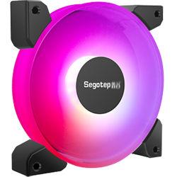 تصدير سيجوتب مواد مقاومة للحريق - تدفق هواء عالي الأداء - كفاءة عالية - ضوضاء منخفضة - تبريد علبة الحاسب RGB-Argb-Single Color-اختياري المروحة